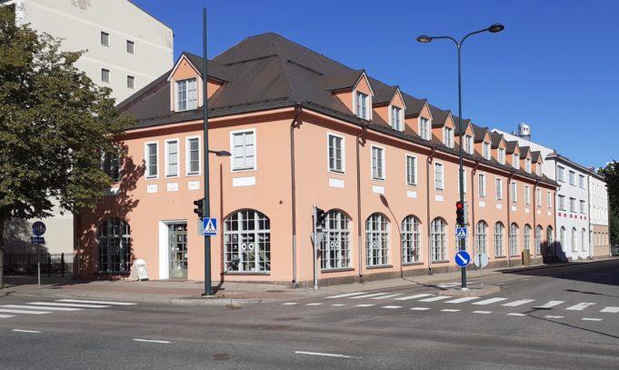 NuPa NuortenPaikka -rakennus.