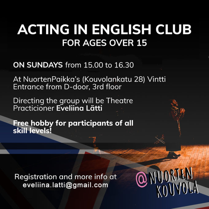 Acting in English Club